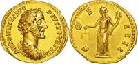 Aureus  Rome  Antoninus Pius AU(55-58)