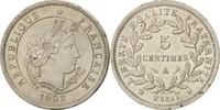 Frankreich 5 Centimes Essai, 5 Centimes Merley, Paris, Gadoury:161