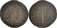 Follis Constantius II, Trier, VZ, Bronze, RIC:540S