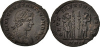 Follis Constantius II, Trier, VZ+, Bronze, RIC:540S