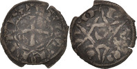 Frankreich Denarius Berry, Seigneurie de Déols, Guillaume I de Chauvigny, S, Silber