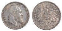 Deutsch Staaten 5 Mark Wilhelm II