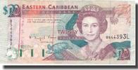 #566736 1985-88 Undated Osten Karibik Staaten Geldschein 1 Dollar