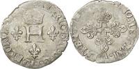 Frankreich Demi Gros de Nesle 1547-1559 Henri II