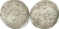 Frankreich Douzain aux croissants 1547-1559 Henri II