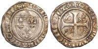 Frankreich Blanc Guénar 1380-1422 Charles VI le Fol