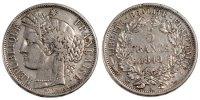 Frankreich 5 Francs Cérès