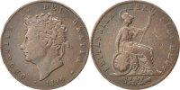 Großbritannien 1/2 Penny George IV