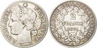 Frankreich 2 Francs Cérès