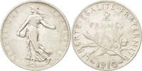 Frankreich 2 Francs Semeuse, Paris,Silber,KM:845.1,Gadoury 532