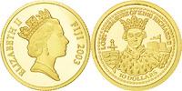 Fiji 10 Dollars Lost Treasure of King Richard Elizabeth II