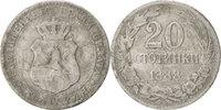 Bulgarien 20 Stotinki Ferdinand I
