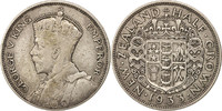 Neuseeland 1/2 Crown George V