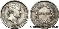 Quart (de franc) Napoléon Ier tête lauré NAPOLEON'S EMPIRE 1809 (15mm, 1,27g, 6h )