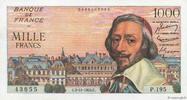 1000 Francs RICHELIEU 1955 FRANCE FRANCE 1000 Francs RICHELIEU 1955 SUP... 200,00 EUR  zzgl. 10,00 EUR Versand