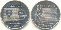 Slowakei 200 Kronen 200. Geburtstag von Samuel Jurkowic