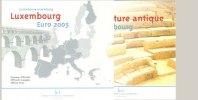 Luxemburg 1 Cent - 2 Euro Jahressatz mit 2 x 2 EUR