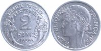 Frankreich 2 Francs Kopf der Marianne