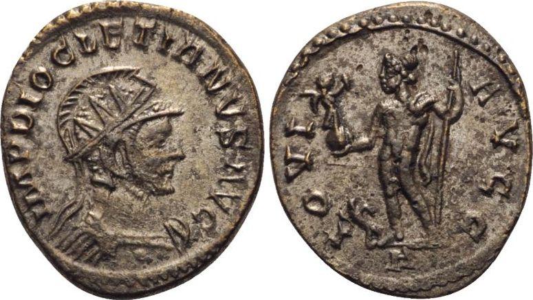 RÖMISCHE KAISERZEIT Antiochia Antoninian 293 Diocletian