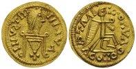 VÖLKERWANDERUNG Tremissis Liuva I., 565 - 572 n.Chr.