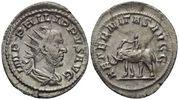 RÖMISCHE KAISERZEIT Antoninian Philippus I. Arabs, 244 - 249 n.Chr.