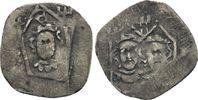 Pfennig Elisabeth von Württemberg, 1362 - 1402