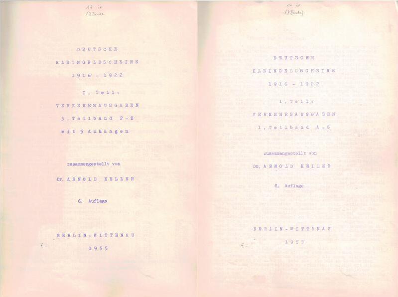 1916 Monographien KELLER, Arnold. br