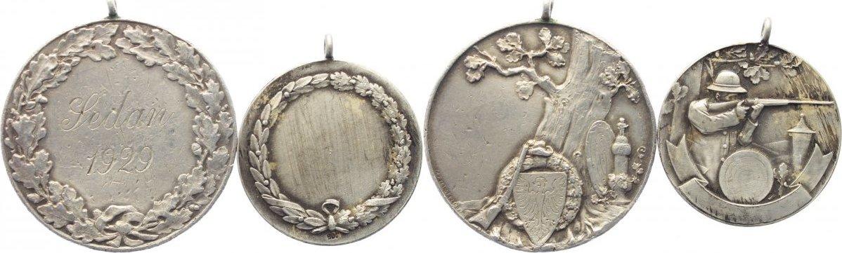 Medaille 1929 Ohne Ortsangabe Ohne Ortsangabe sehr schön ; vorzüglich