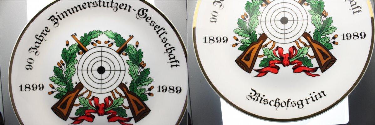 1989 Bayern Bischofsgrün bei Bad Werneck vorzüglich