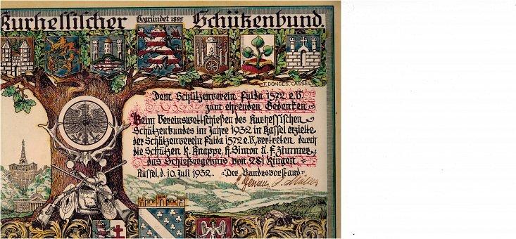 1932 Hessen Fulda frisches Ex.