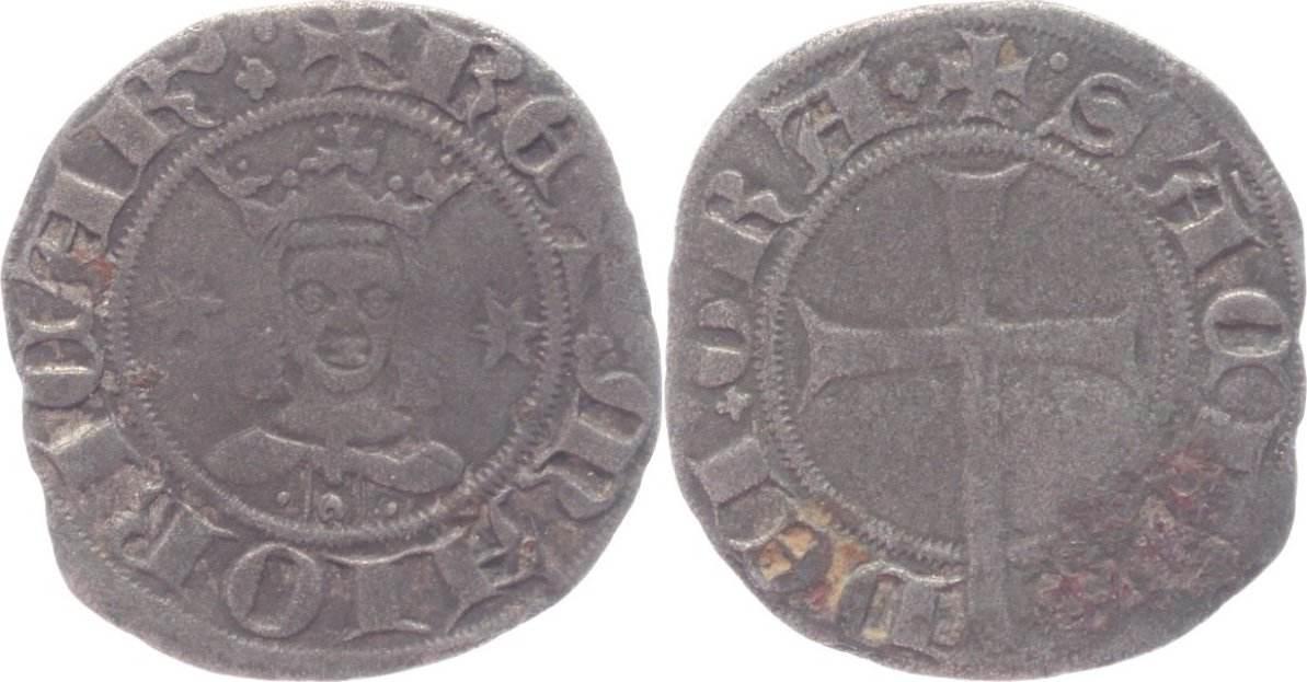 Dobler 1311-1324 Spanien-Mallorca Sancho 1311-1324. sehr schön