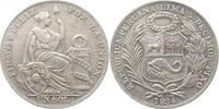 Sol 1935 Peru Republik seit 1821. min. Kr., f. vorzüglich  27,00 EUR kostenloser Versand