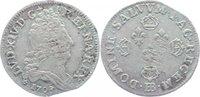 Frankreich 10 Sols aux 4 couronnes (1/8 écu) 1 Ludwig XIV. 1643-1715.