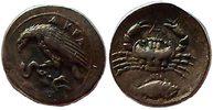 litra 425 - 426 BC Ancient Greek Sizilien, Akragas Vorzuglich  2600,00 EUR kostenloser Versand