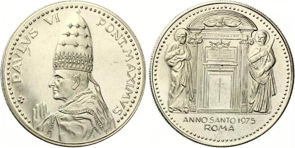 Vatikan Medaille Paulus Vi Pont Maximus Vz St Ma Shops