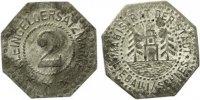 Schlesien Liebau - Zink ohne Jahr (Funck 296.2) 2 Pfennig