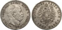 5 Mark Preussen Wilhelm I