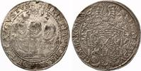 Sachsen Taler 1592 Christian II  Johann Georg I und August 1591-1611