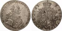 SACHSEN COBURG SAALFELD  Konventionstaler 1765 Ernst Friedrich 1764-1800