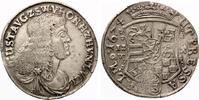 SAYN WITTGENSTEIN HOHENSTEIN 2/3 Taler 1674 IZW GRAFSCHAFT Gustav 1657-1701