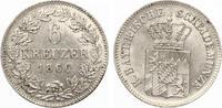 Bayern 6 Kreuzer 1866 Bayrische Scheidemünze