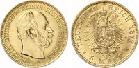 5 Mark Preussen Wilhelm I GOLD