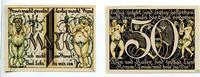 Wyk auf Föhr Altdeutscher Keller 50 Pfennig + 1 Mark Mehl 1461.1