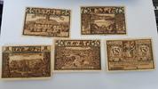 Lähn Polen Wlen 25 Pfennig - 1,50 Mark 5 Stück Mehl 756.3 b