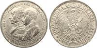 5 Mark Mecklenburg Schwerin 1915 100 Jahre Grossherzogtum