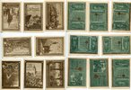 Allstedt 10 Pfennig 25 Pfennig 6 x 50 Pfennig Mehl 15.1 komplett