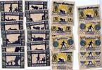Gollnow Golenlow Polen 6 x 50 Pfennig - 75 Pfennig  Mehl 453.5 komplett 12 Stück