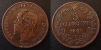 1861 M Italie, Italia, Italien Italie, Italia, 5 centesimi 1861 M, KM.... 3.96 US$ 3,50 EUR  +  9.62 US$ shipping