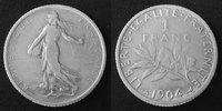 1904 France 1 Franc Semeuse de Roty 1904, G.467 TB à TTB s-ss  10.75 US$ 9,50 EUR  +  9.62 US$ shipping