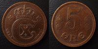 1917 Danemark, Denmark Danemark, Denmark, 5 ores 1917, Christian x, KM... 15.27 US$ 13,50 EUR  +  9.62 US$ shipping